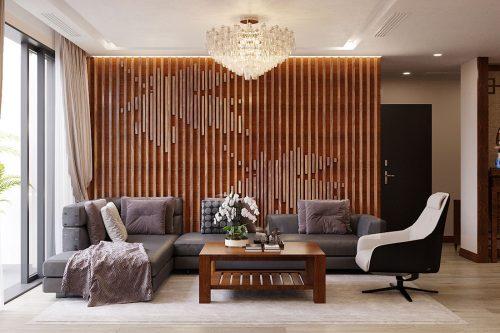 Chiêm ngưỡng nội thất căn hộ 110m2 tại dự án Vinhomes Metropolis