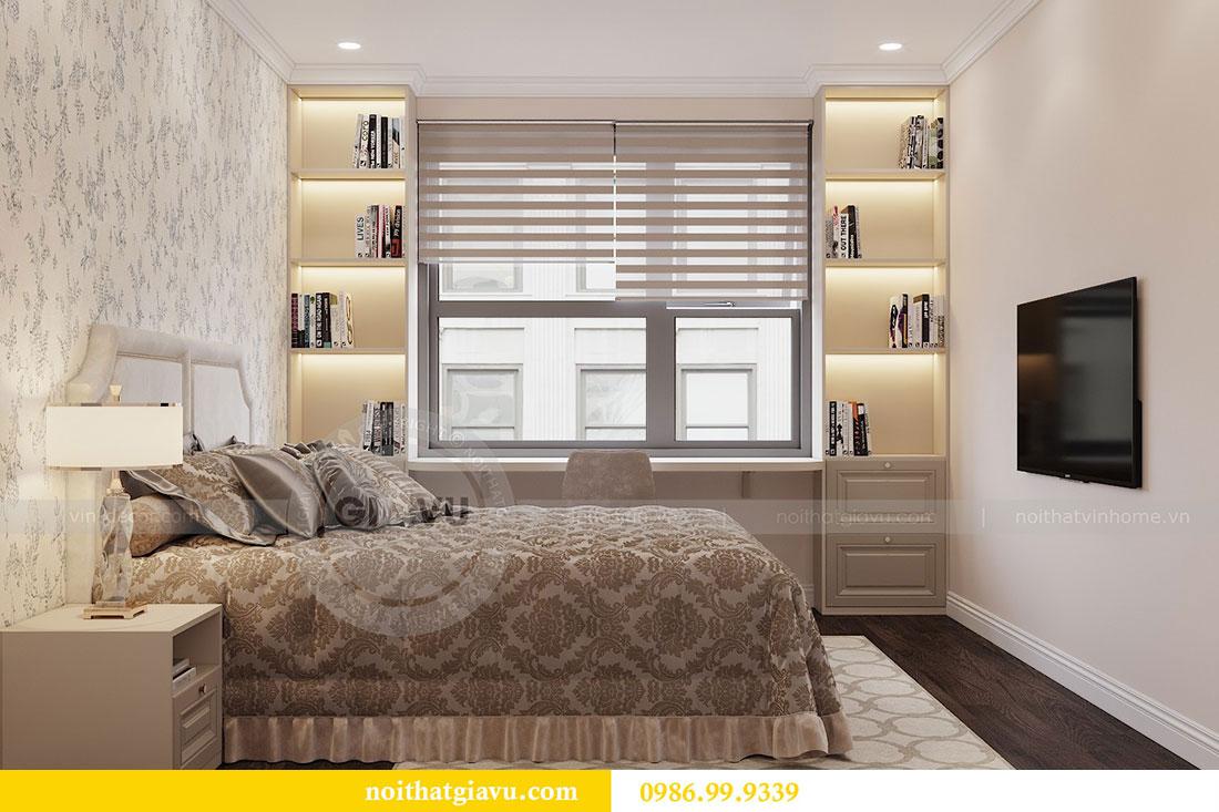 Nội thất căn hộ chung cư 2 phòng ngủ đẹp sang trọng - chị Mận 6