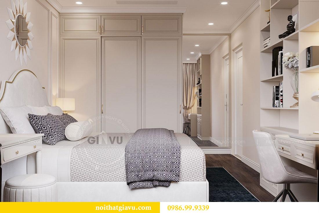 Nội thất căn hộ chung cư 2 phòng ngủ đẹp sang trọng - chị Mận 8