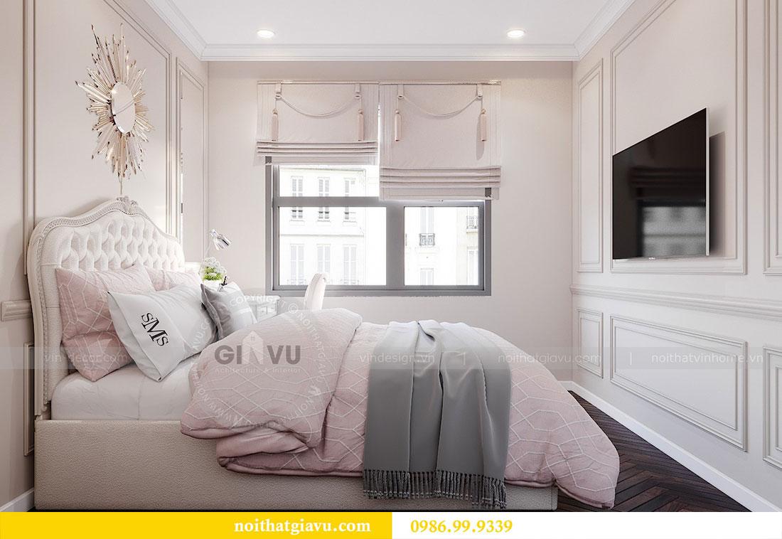 Tham khảo mẫu thiết kế nội thất chung cư Dcapitale căn 3 ngủ - chị Hằng 10