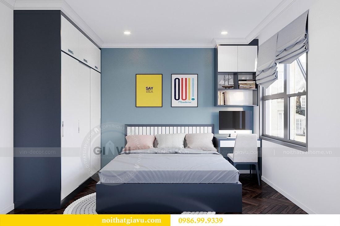Tham khảo mẫu thiết kế nội thất chung cư Dcapitale căn 3 ngủ - chị Hằng 11