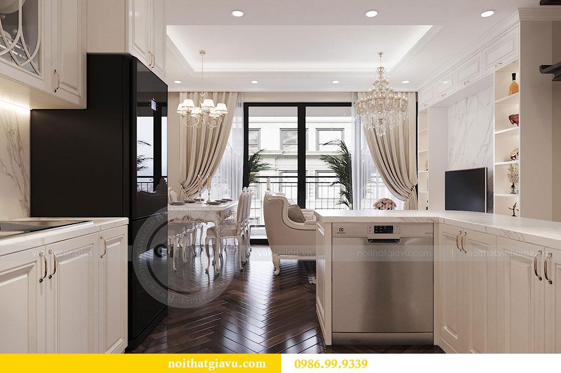 Tham khảo mẫu thiết kế nội thất chung cư Dcapitale căn 3 ngủ - chị Hằng 3