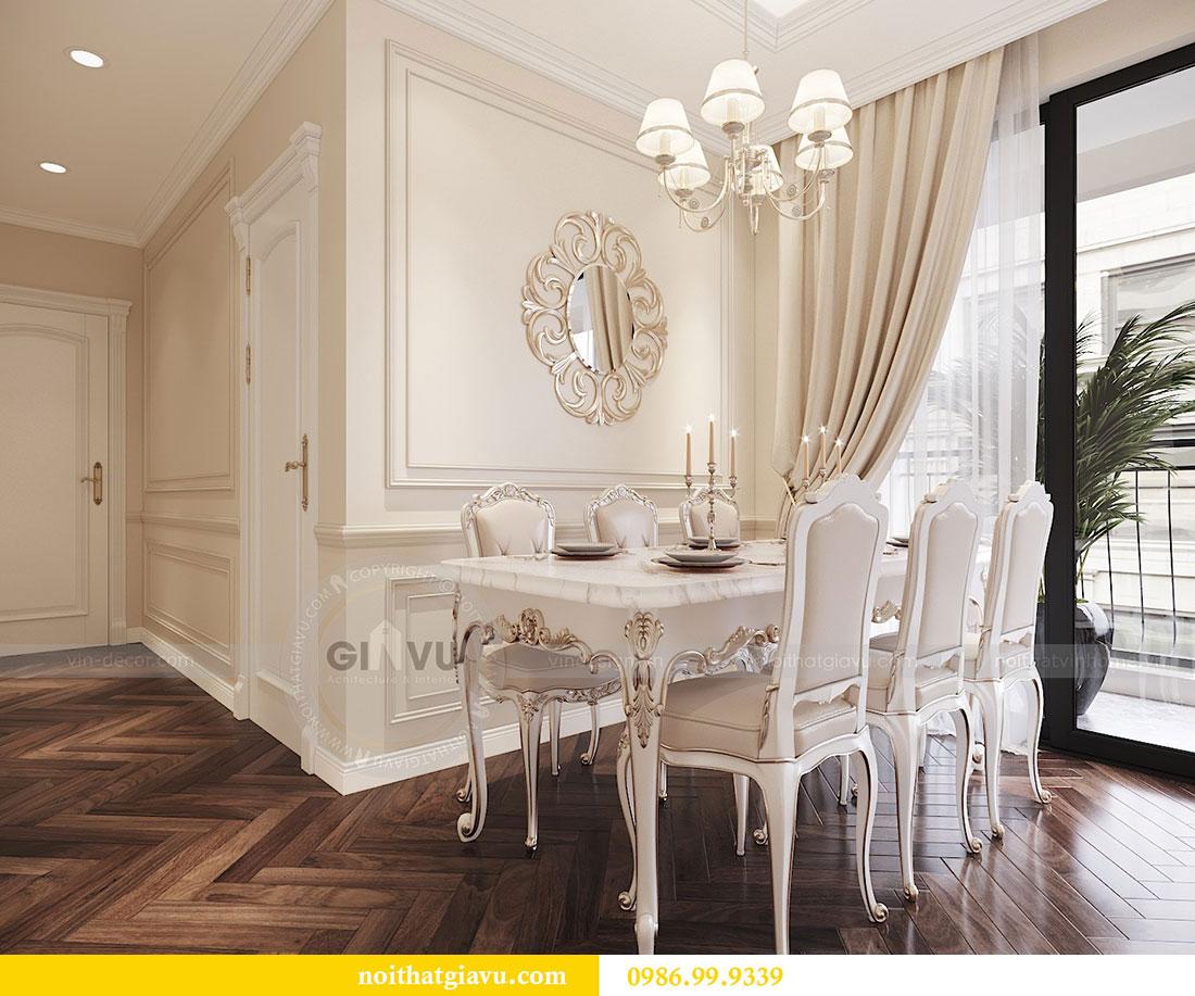 Tham khảo mẫu thiết kế nội thất chung cư Dcapitale căn 3 ngủ - chị Hằng 4