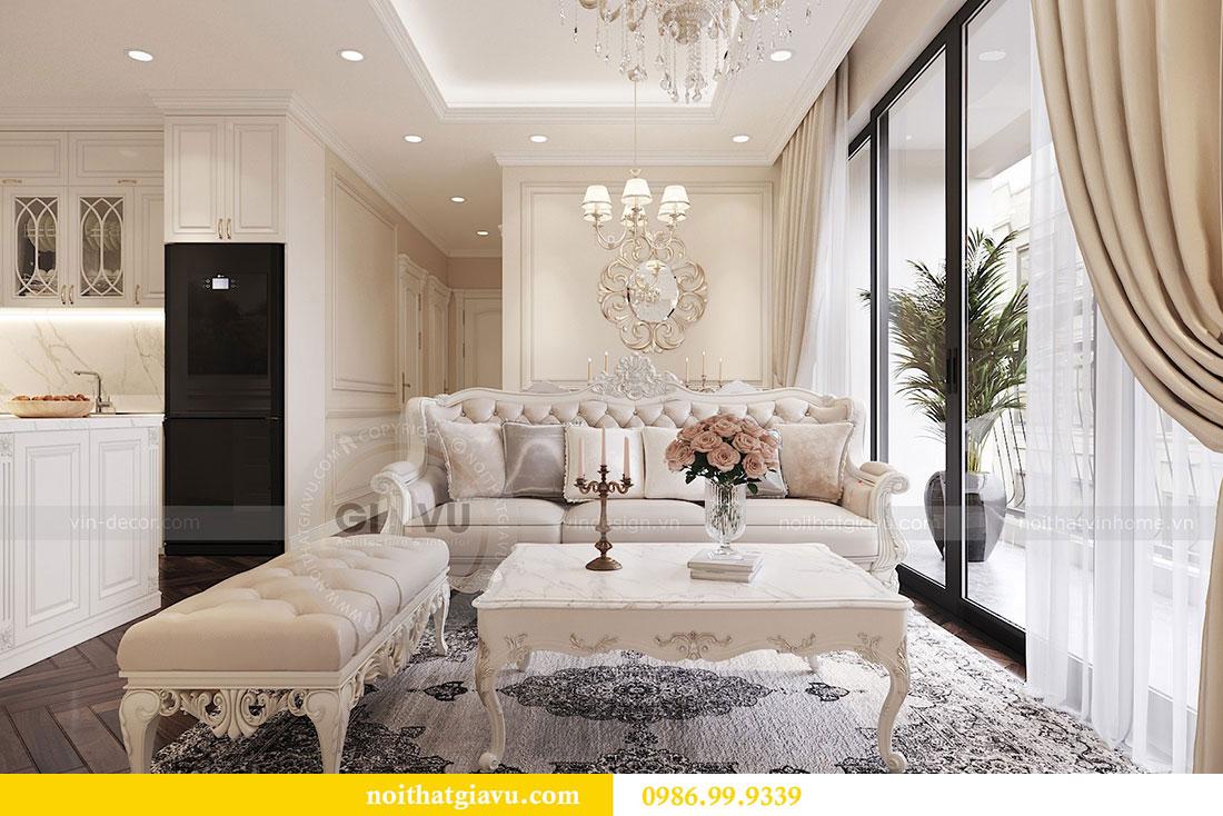 Tham khảo mẫu thiết kế nội thất chung cư Dcapitale căn 3 ngủ - chị Hằng 5