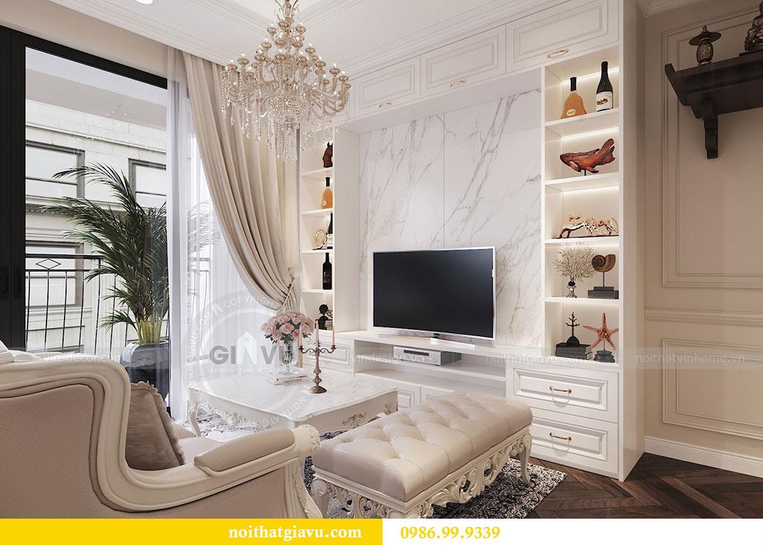 Tham khảo mẫu thiết kế nội thất chung cư Dcapitale căn 3 ngủ - chị Hằng 6