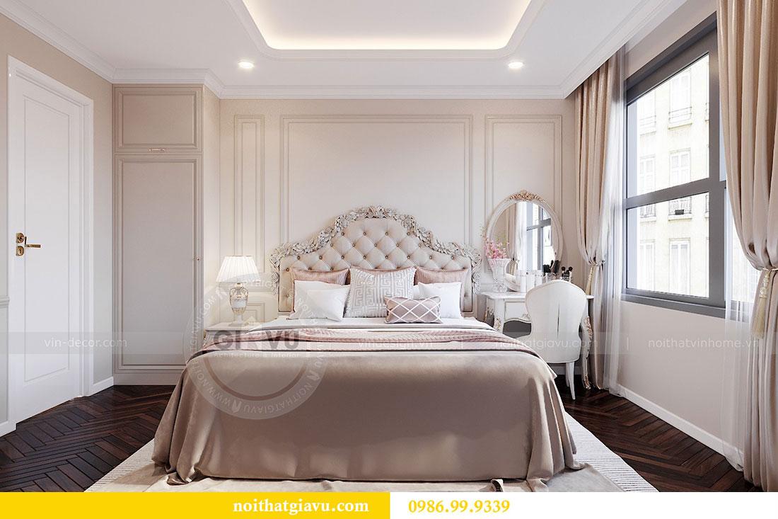Tham khảo mẫu thiết kế nội thất chung cư Dcapitale căn 3 ngủ - chị Hằng 7