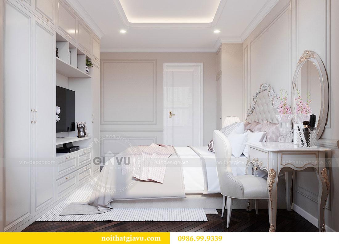 Tham khảo mẫu thiết kế nội thất chung cư Dcapitale căn 3 ngủ - chị Hằng 8