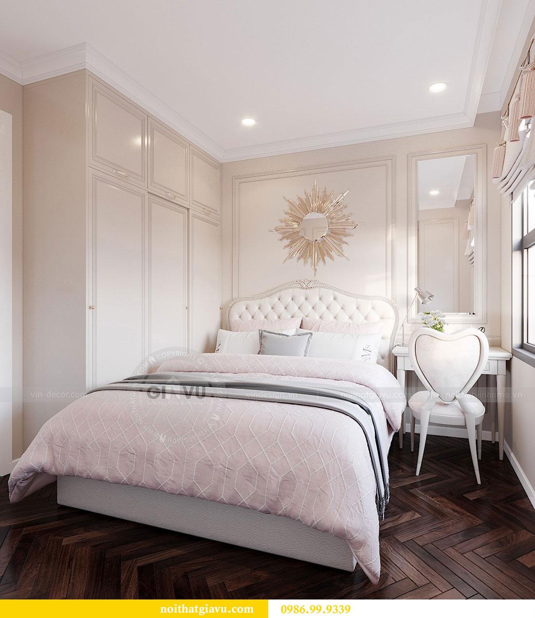 Tham khảo mẫu thiết kế nội thất chung cư Dcapitale căn 3 ngủ - chị Hằng 9
