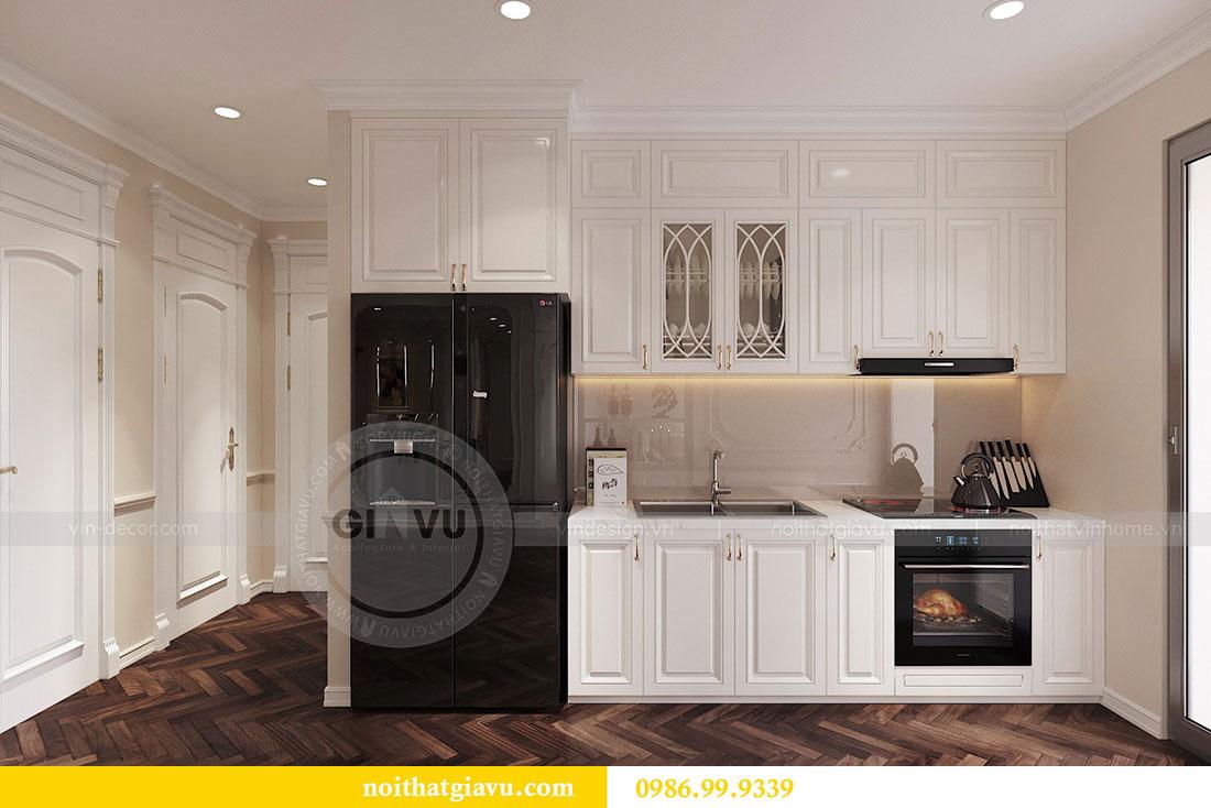Thiết kế nội thất chung cư 107m2 phong cách tân cổ điển - anh Nam 6