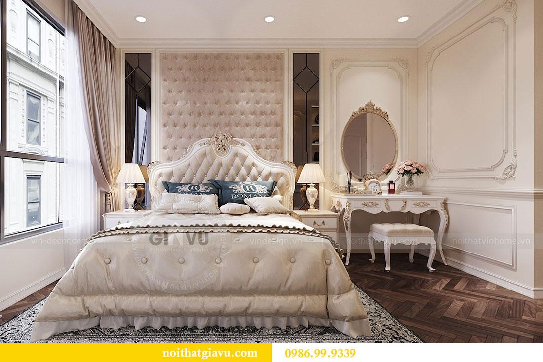 Thiết kế nội thất chung cư 107m2 phong cách tân cổ điển - anh Nam 7