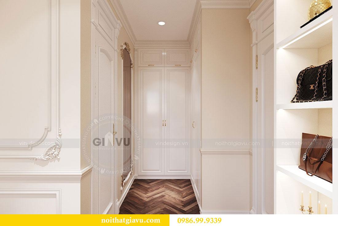 Thiết kế nội thất chung cư 107m2 phong cách tân cổ điển - anh Nam 9