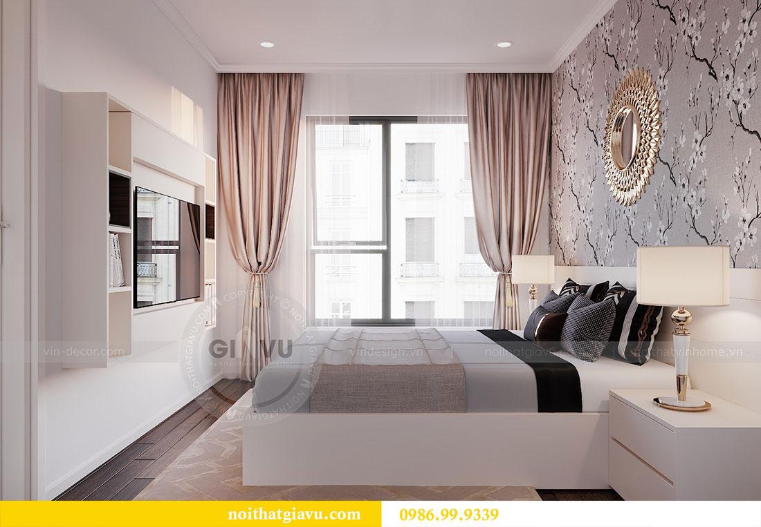 Thiết kế nội thất chung cư Dcapitale Trần Duy Hưng căn 3 ngủ 10