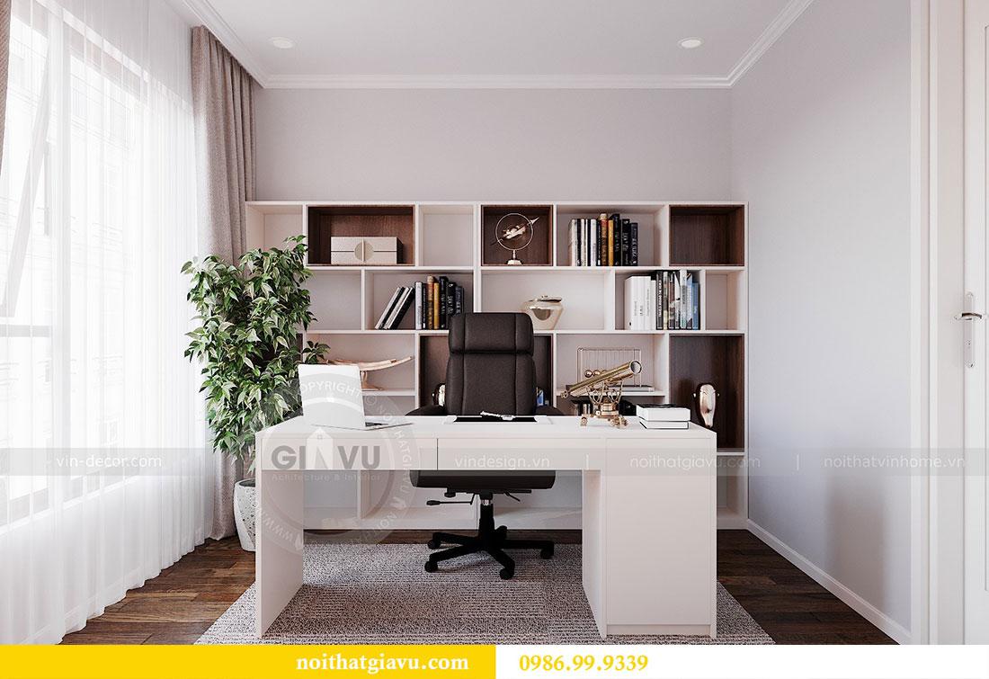 Thiết kế nội thất chung cư Dcapitale Trần Duy Hưng căn 3 ngủ 11