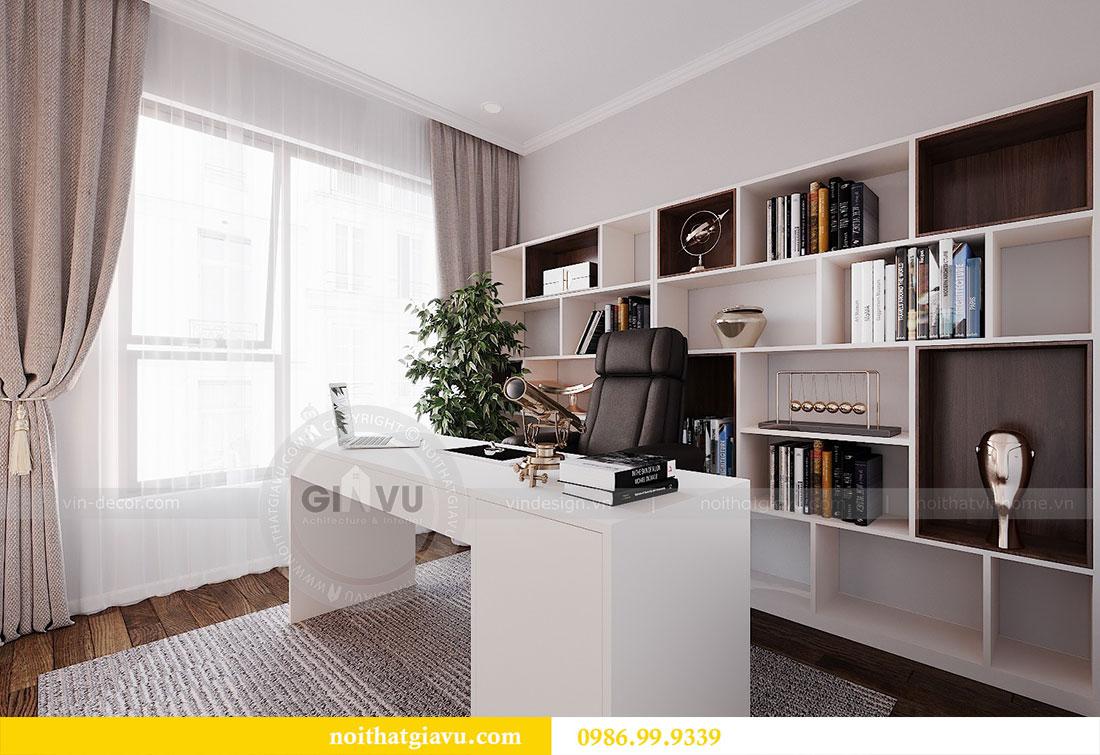 Thiết kế nội thất chung cư Dcapitale Trần Duy Hưng căn 3 ngủ 12