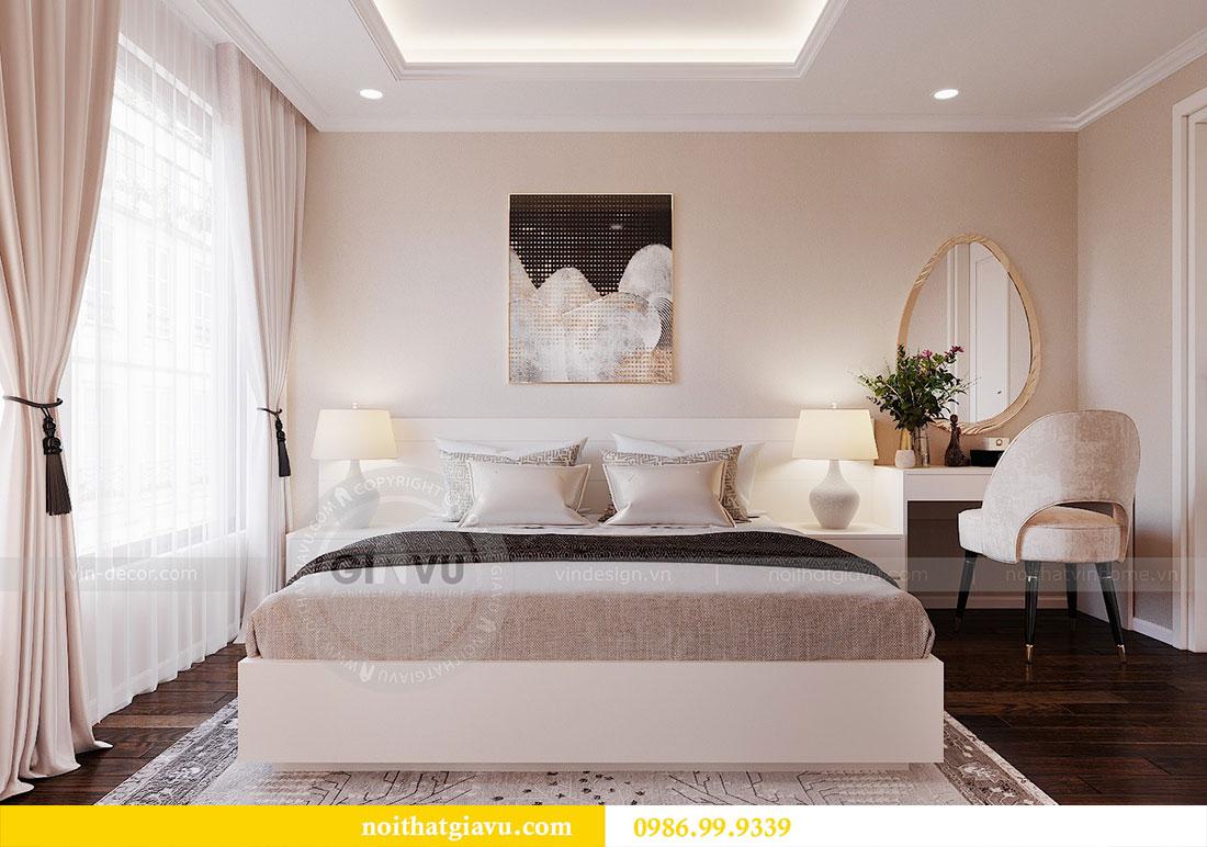 Thiết kế nội thất chung cư Dcapitale Trần Duy Hưng căn 3 ngủ 6