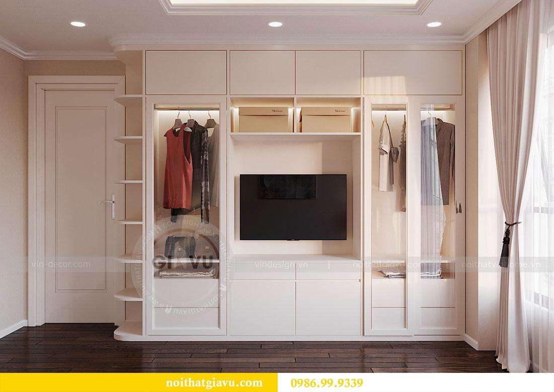 Thiết kế nội thất chung cư Dcapitale Trần Duy Hưng căn 3 ngủ 7
