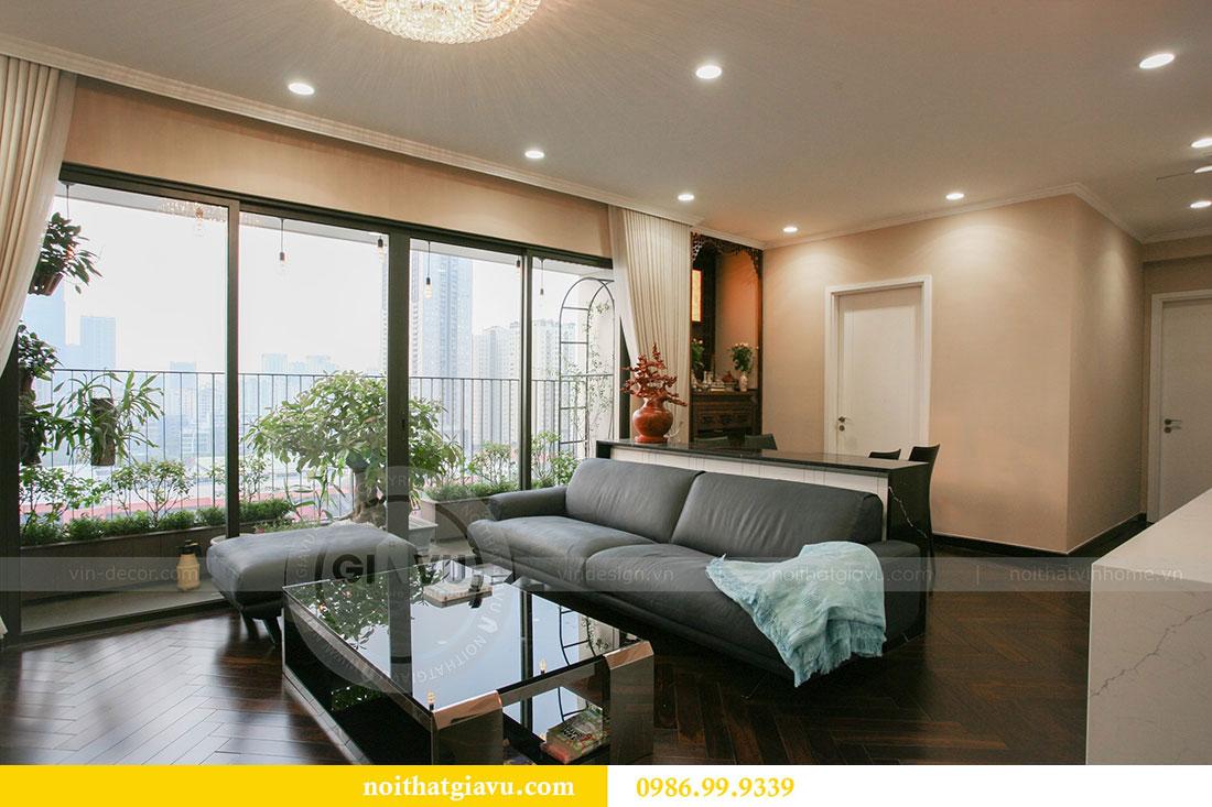 Công trình thực tế thi công nội thất chung cư căn 3 ngủ nhà chị Mai 1