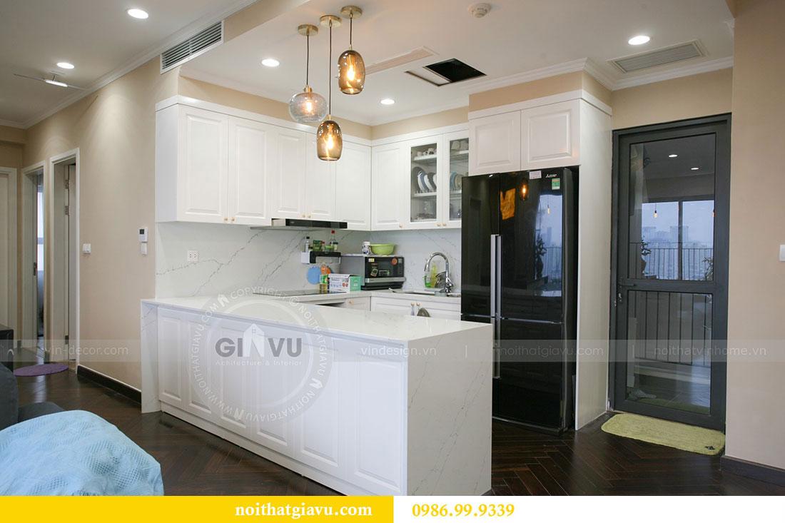 Công trình thực tế thi công nội thất chung cư căn 3 ngủ nhà chị Mai 4