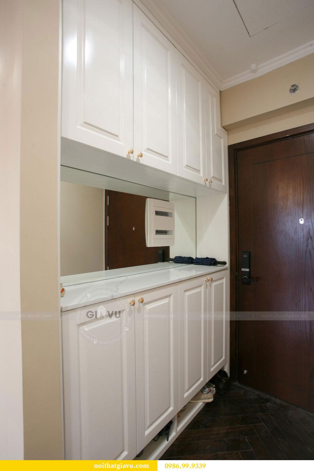 Công trình thực tế thi công nội thất chung cư căn 3 ngủ nhà chị Mai 5