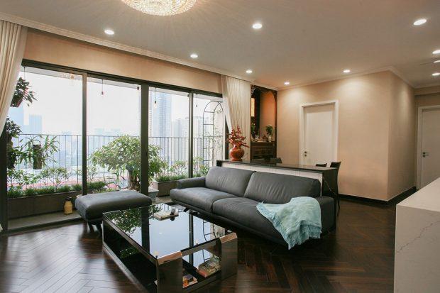 Công trình thực tế thi công nội thất chung cư căn 3 ngủ nhà chị Mai