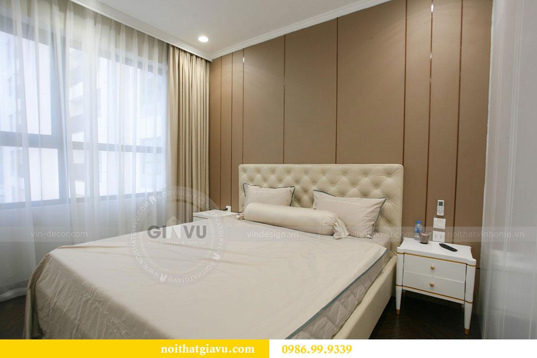 Công trình thực tế thi công nội thất chung cư căn 3 ngủ nhà chị Mai 7