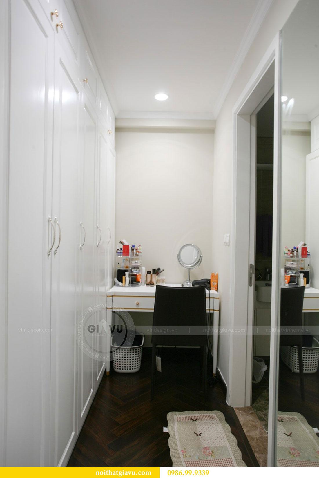 Công trình thực tế thi công nội thất chung cư căn 3 ngủ nhà chị Mai 8