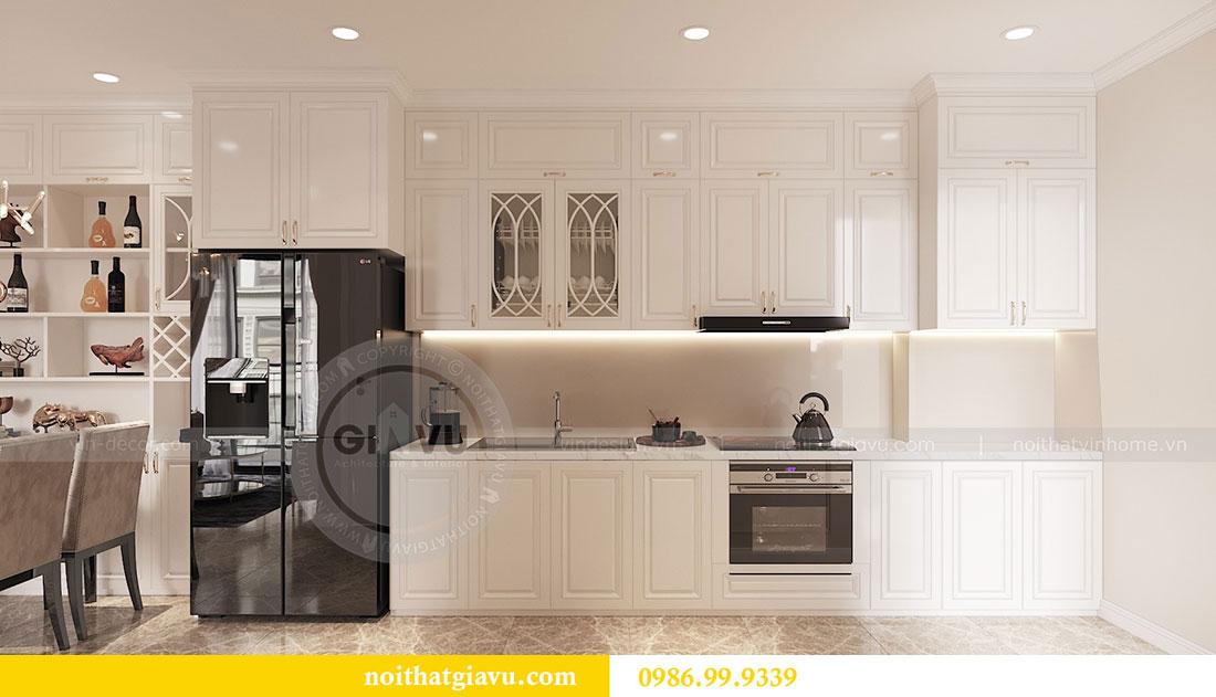 Tham khảo mẫu thiết kế nội thất chung cư 62m2 nhà chị Phương 4