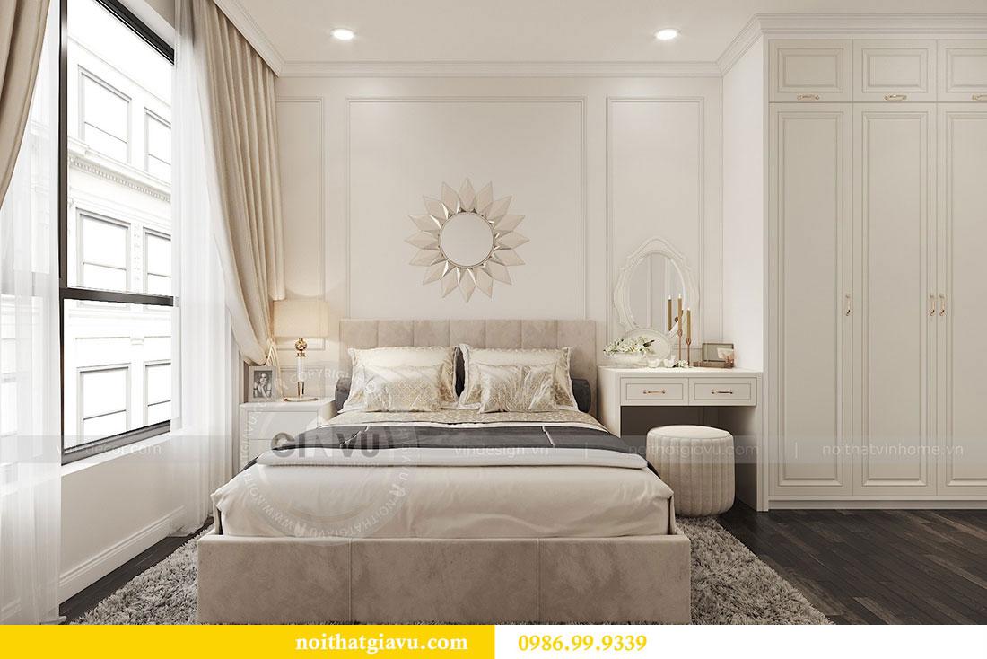 Tham khảo mẫu thiết kế nội thất chung cư 62m2 nhà chị Phương 5