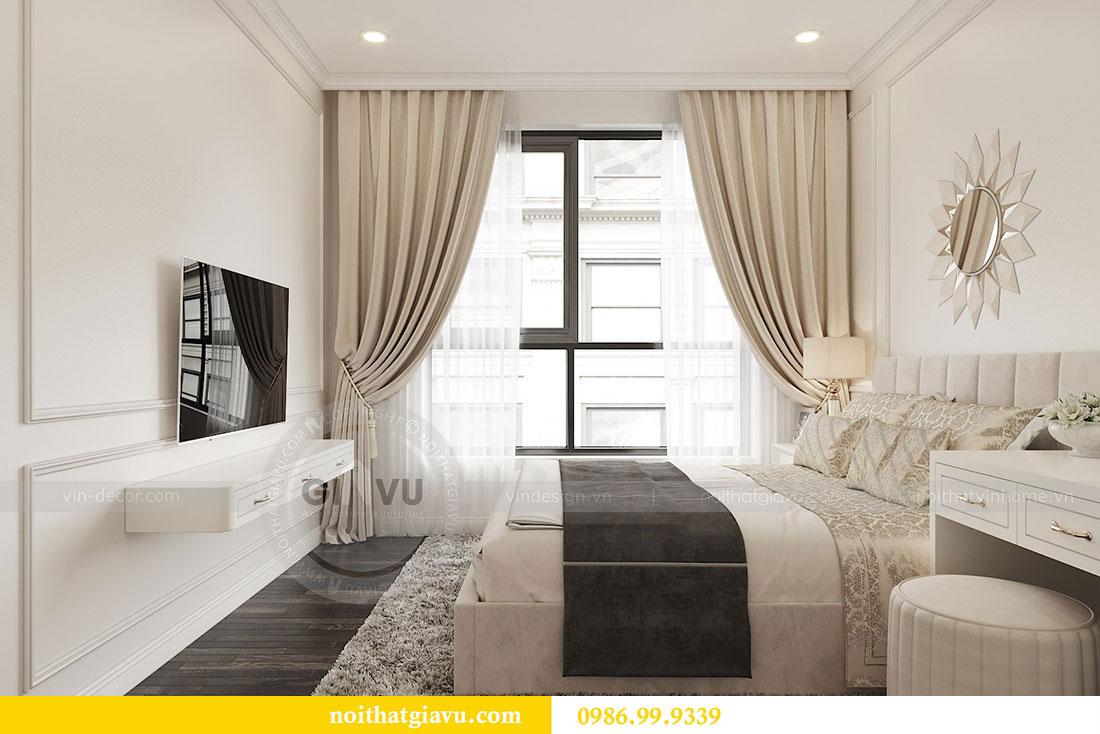 Tham khảo mẫu thiết kế nội thất chung cư 62m2 nhà chị Phương 6