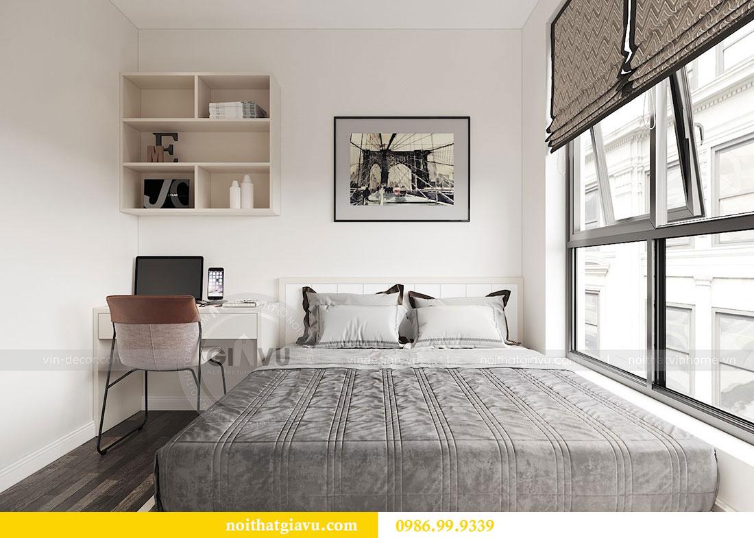 Tham khảo mẫu thiết kế nội thất chung cư 62m2 nhà chị Phương 7
