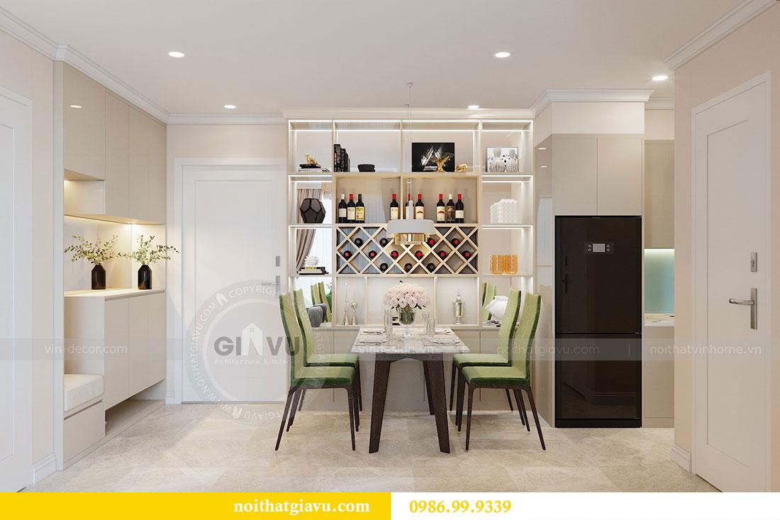 Thiết kế chung cư Dcapitale tòa C6 căn 05 đẹp hiện đại - chị Nụ 3