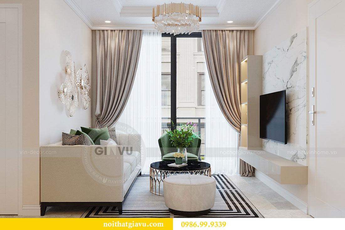 Thiết kế chung cư Dcapitale tòa C6 căn 05 đẹp hiện đại - chị Nụ 6
