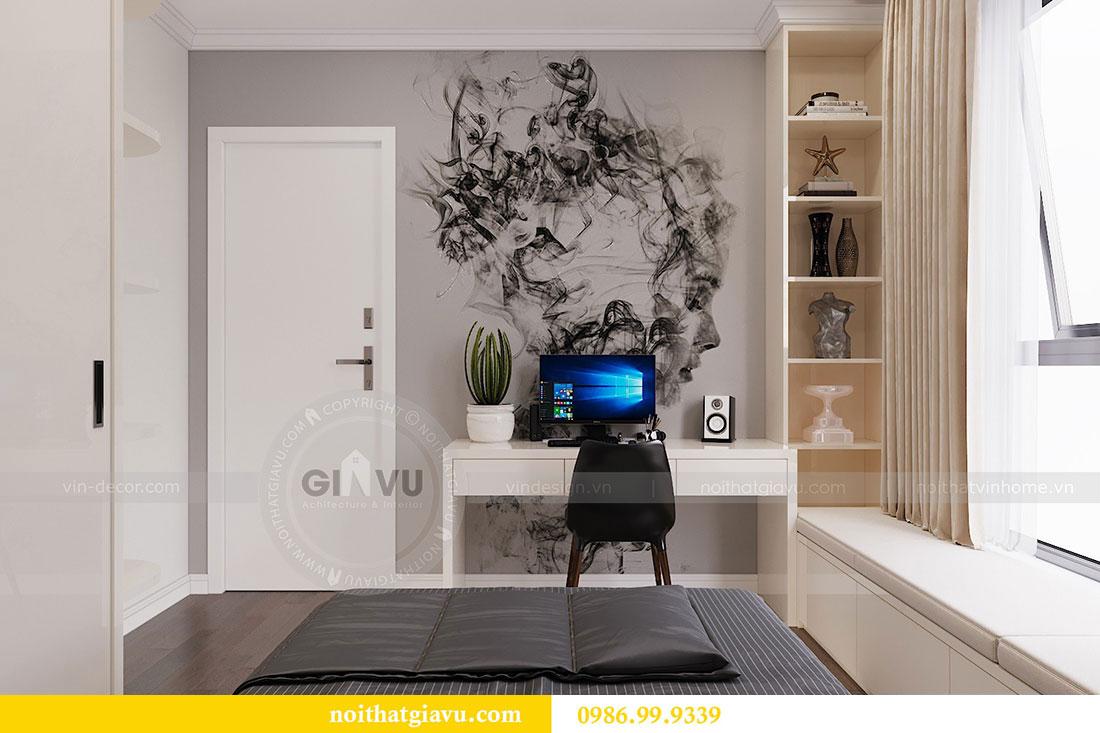 Triển khai thiết kế thi công nội thất tòa C3 căn 06 - anh Chung 8