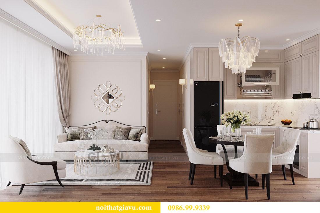 Chỉ với 12 triệu sở hữu mẫu thiết kế nội thất chung cư căn hộ 80m2 3