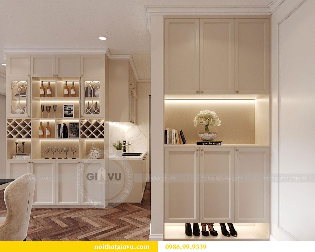 Thiết kế nội thất Dcapitale tòa C7 căn 12 sang trọng đẳng cấp 1