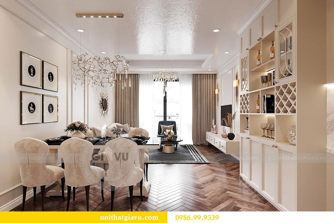 Thiết kế nội thất Dcapitale tòa C7 căn 12 sang trọng đẳng cấp 2