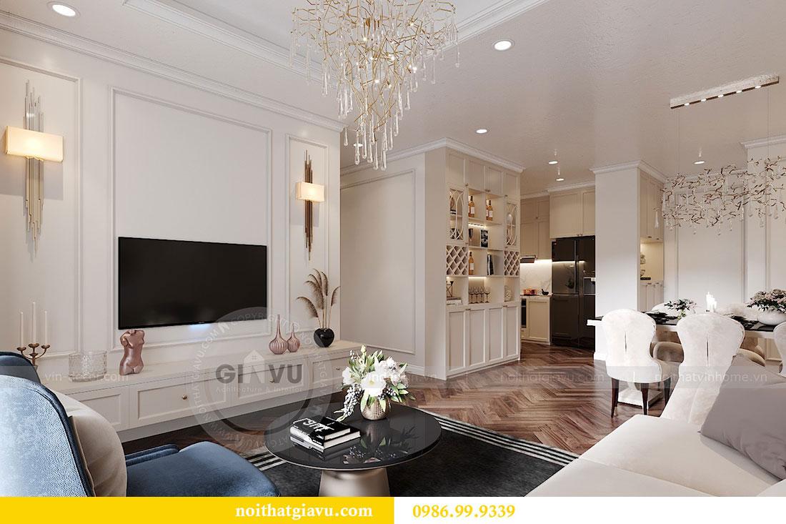 Thiết kế nội thất Dcapitale tòa C7 căn 12 sang trọng đẳng cấp 4