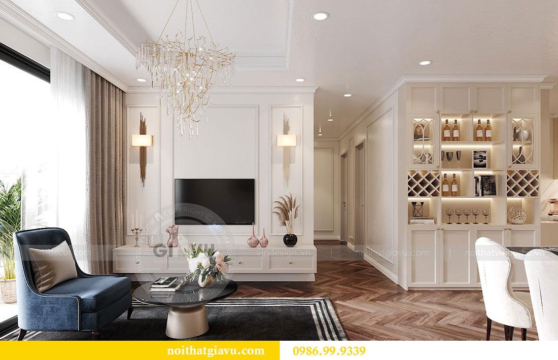 Thiết kế nội thất Dcapitale tòa C7 căn 12 sang trọng đẳng cấp 6