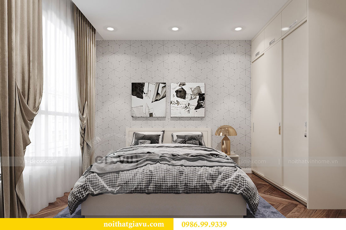 Thiết kế nội thất Dcapitale tòa C7 căn 12 sang trọng đẳng cấp 9