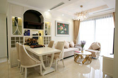 Thi công hoàn thiện nội thất thực tế chung cư DCapitale – Anh Nam