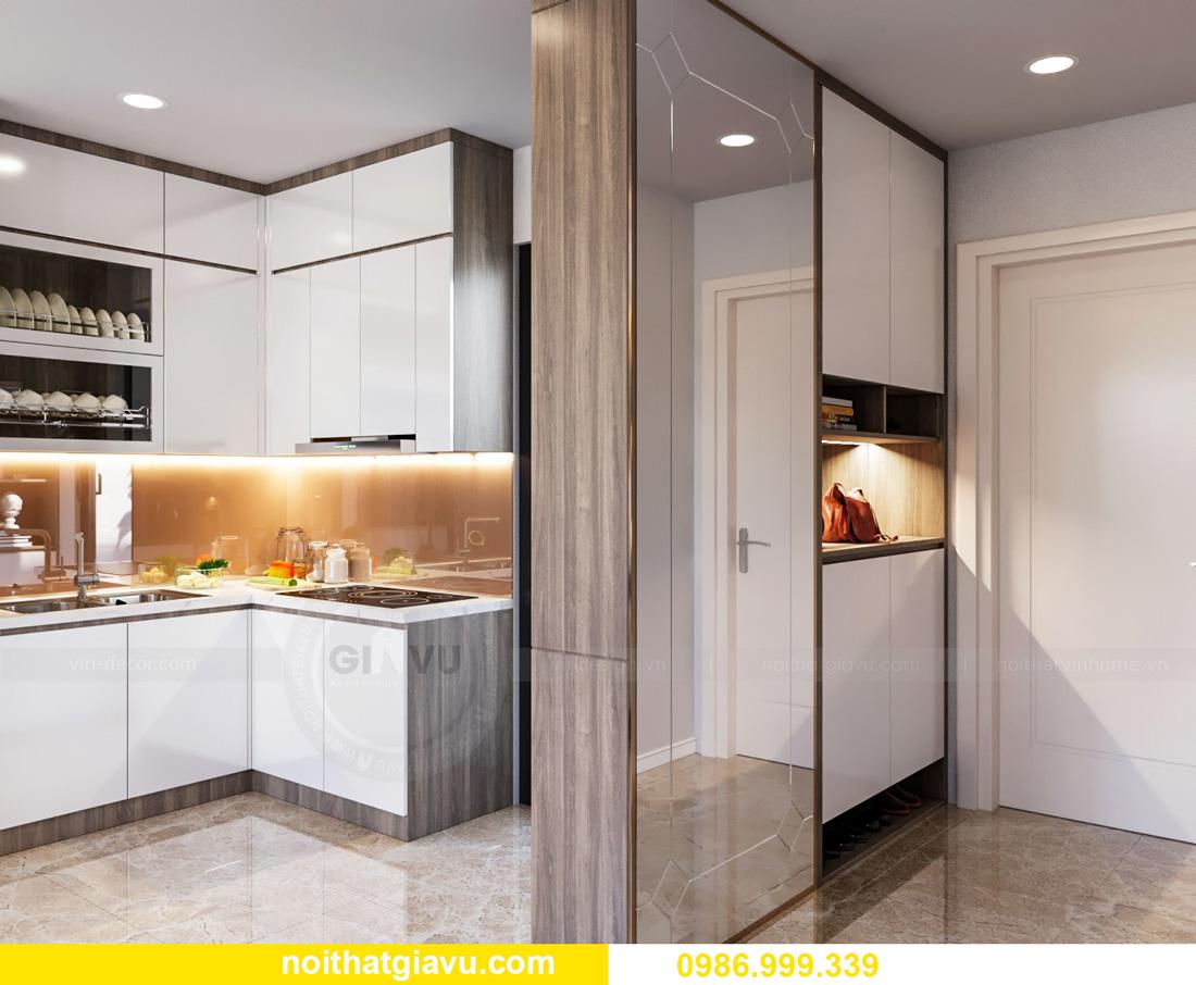 thiết kế nội thất căn hộ Vinhomes Ocean Park Gia Lâm đẹp, đẳng cấp 01