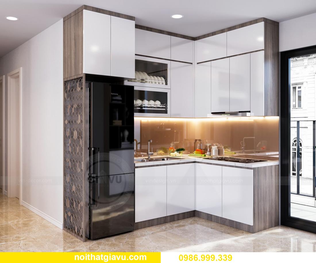 thiết kế nội thất căn hộ Vinhomes Ocean Park Gia Lâm đẹp, đẳng cấp 02