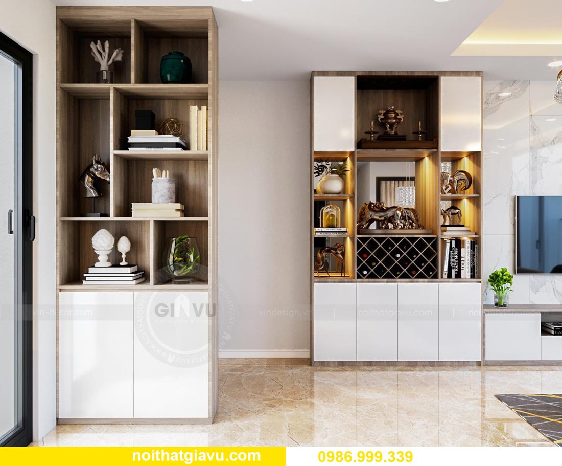 thiết kế nội thất căn hộ Vinhomes Ocean Park Gia Lâm đẹp, đẳng cấp 06