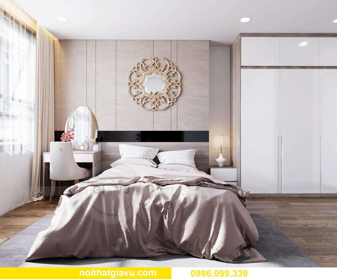 thiết kế nội thất căn hộ Vinhomes Ocean Park Gia Lâm đẹp, đẳng cấp 07
