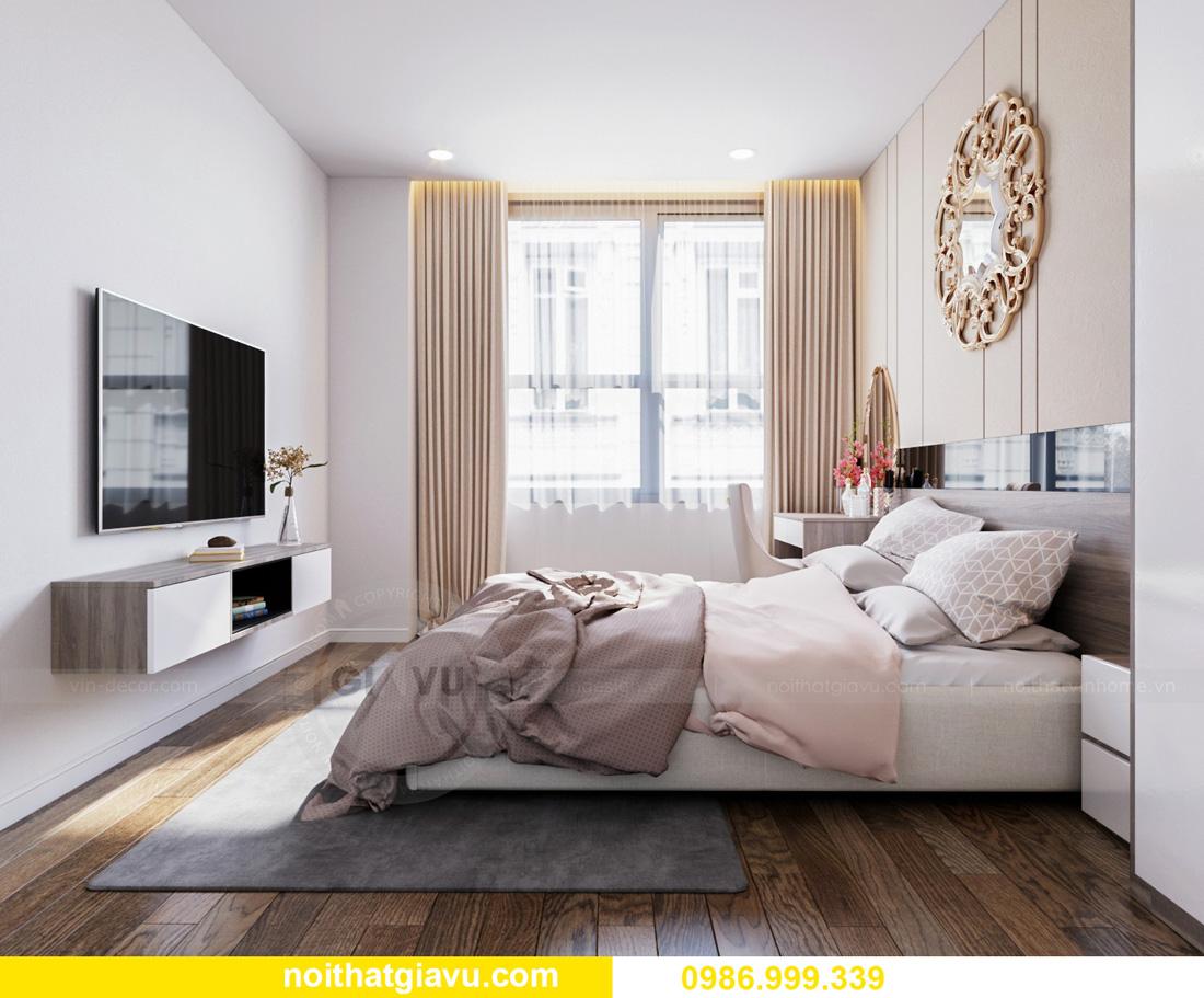 thiết kế nội thất căn hộ Vinhomes Ocean Park Gia Lâm đẹp, đẳng cấp 08