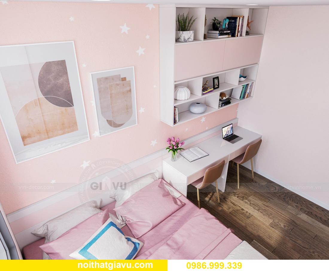 thiết kế nội thất căn hộ Vinhomes Ocean Park Gia Lâm đẹp, đẳng cấp 10