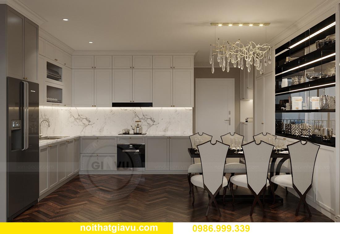 thiết kế nội thất chung cư Smart City Tây Mỗ 01