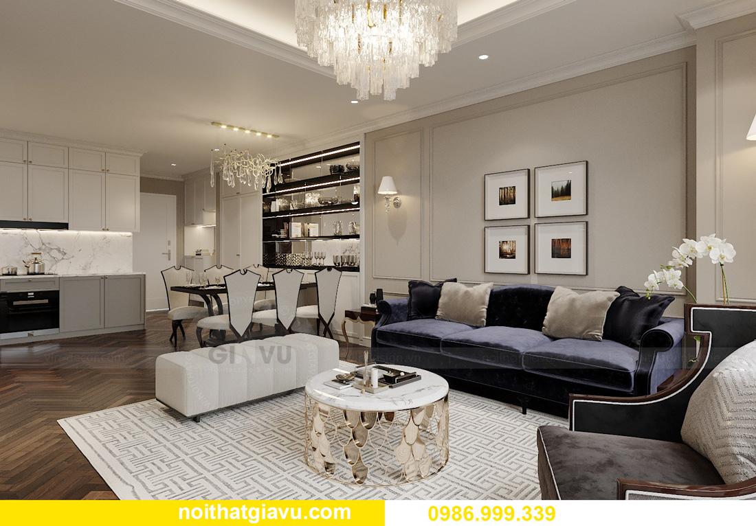 thiết kế nội thất chung cư Smart City Tây Mỗ 03
