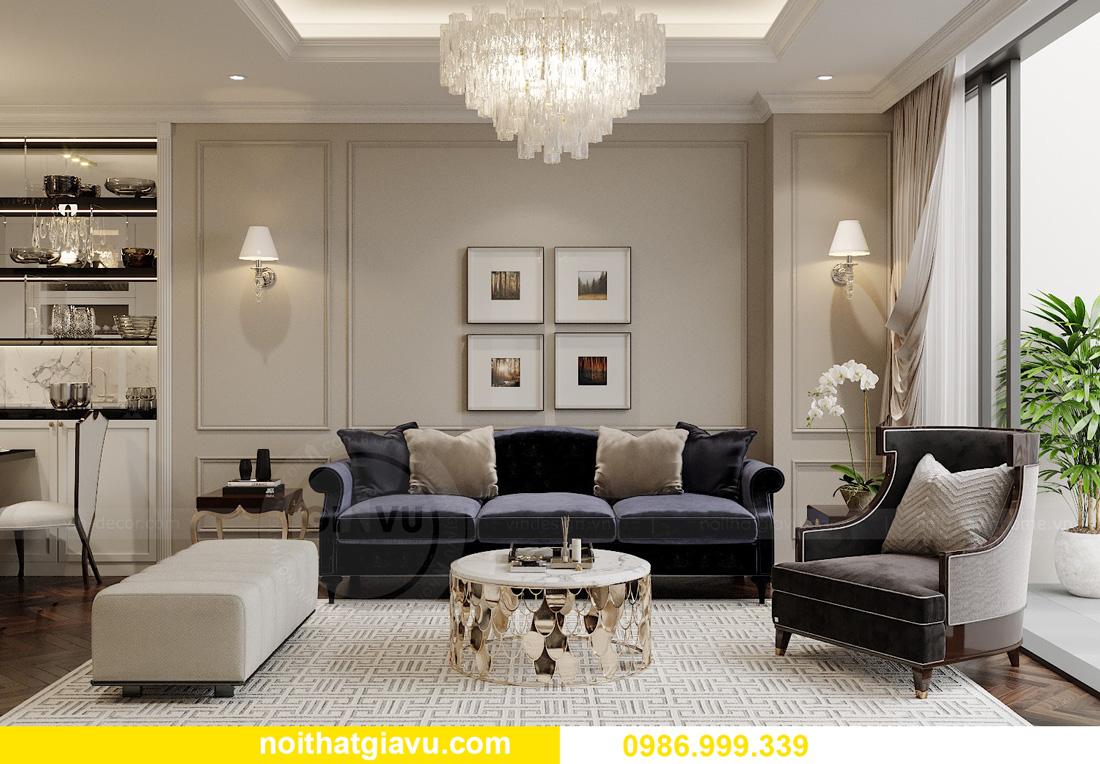 thiết kế nội thất chung cư Smart City Tây Mỗ 04