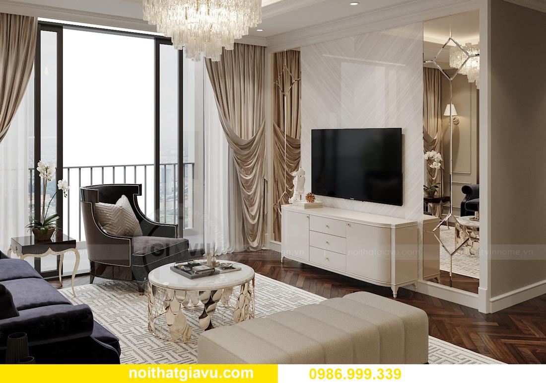 thiết kế nội thất chung cư Smart City Tây Mỗ 05